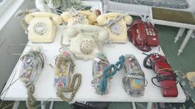 Various Telephones
