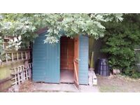 Garden Shed measures W=208 D=215 H=225 cm Great Xmas present