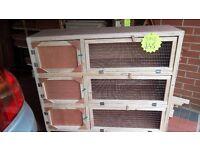 indoor 3 tier guinea pig or small rabbit hut