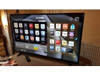 BOXED LUXOR 55-inch SUPER SMART 4K ULTRA HD LED TV,built in Wifi,FREEVIEW PLAY,EXCELLENT CONDITION