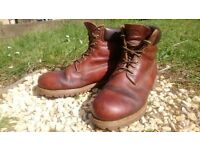 Timberland leather boots size 11.5 for sale