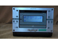Sony Mini disk recorder,CD,Amp (compact deck!)