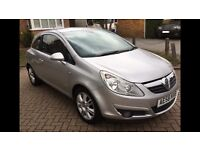 Price reduced for quick sale 2008 Vauxhall Corsa Disign 1.4 Automatic 69000 Miles
