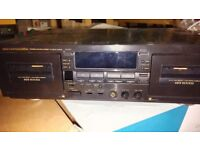 Marantz SD555 Stereo Double Cassette Deck with manual