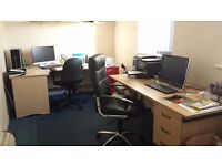 X2 Office Desks and X2 Office Chairs For Sale