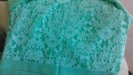 Warehouse - mint green dress