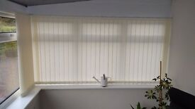 Vertical Blinds - Like new (various sizes)