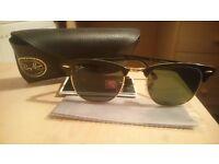RayBan Sunglasses Clubmasters original 'like-new' in box.