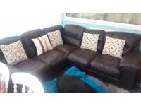 Sofa leather with leather care
