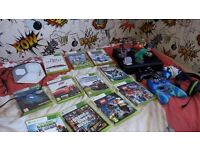 Xbox 360, games and controllors
