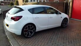 2011 Vauxhall Astra MK6 J 1.6 SRi Turbo 5 Door White 38k miles