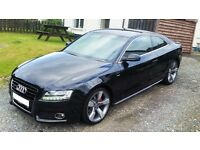 Audi A5 3.0 tdi V6 Quattro S line Special edition 2011 Fully loaded, top spec!