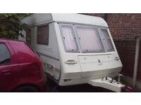 Compass Ralley 490 GTE touring caravan