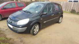 2005 Renault scenic 1.5 diesel. Low mileage, very good condition