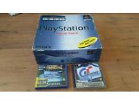 PLAYSTATION 1 FULLY BOXED ORIGINAL DEMO DISC AND INSTRUCTIONS
