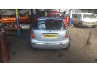 Mini one Spares are repair very tidy car gearbox fault