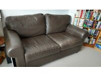 FREE! Comfy brown sofa