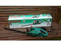 BOSCH CORDLESS HEDGE TRIMMER, JUST NEEDS BATTERY, £20 ONLY;
