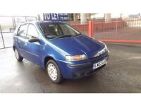 2003 Fiat Punto Dynamic 1.2 Petrol 1 Year MOT 5 Door Only Done 58000 Miles Only..