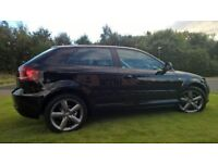 09 AUDI A3 ONLY 50K FULL SERVICE HISTORY WITH UPGRADE S-LINE INTERIOR & 12 MONTHS MOT