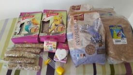 Bundle food for parrots/cocktaiel/ budgie