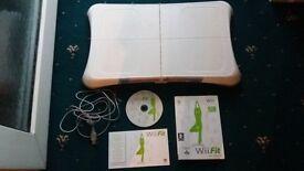 Wii Balance Board +Wii Fit