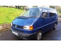 Fully converted VW T4 camper van for sale, reconditioned engine only done 1100 miles.