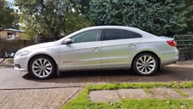 Silver VW Passat CC - Automatic, Bluemotion, Full Leather, Satnav. Well maintained.