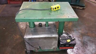 Lexco Lift Table With 12 Volt Hydraulic Power Unit