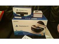 Ps4 VR headset camera and 2 games