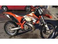 Road legal Ktm 300 xc 2 stroke