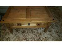 Rustic Coffee Table & Side Table
