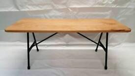 Beech wood bench
