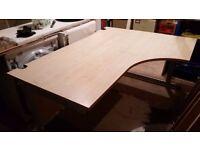 Corner Office Desks 160x120x80x72 Good condition - Warrington