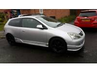 Honda civic type s breaking for parts