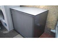 Metal Office Cabinet Single Shutter Door