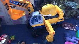 Ride on digger