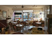 HIGHLY PROFITABLE ATTRACTIVE CAFE IN POOLE EASILY RUN BY HUSBAND AND WIFE TEAM. RETIREMENT SALE.