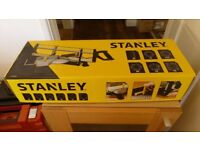 Stanley mitre saw set, complete kit as new