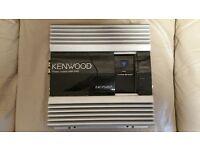 CAR AMPLIFIER KENWOOD PS201T 1000 WATT 2CH AMP FOR SUBWOOFER AS BRIDGED OR DOOR SPEAKERS AS STEREO