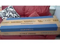 Kurzweil SP4-7 76 note Stage Piano with Manual and Damper/Sustain Pedal. Superb Condition.