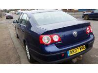 2007 (07) Volkswagen Passat 1.9 TDI, MOT, 9 Stamps in Service book, 2 Former Keepers