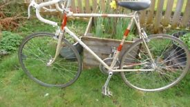 **Vintage B.S.A. Racer / Road Bike ** 23 inch frame** Offers Welcome**