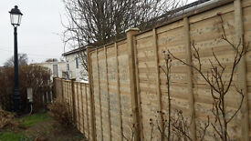 FENCING AND FENCE REPAIRS - Bespoke Garden Fencing + Feather Edge