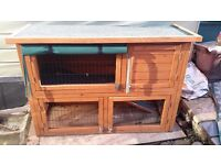 'Highgrove' Rabbit / Guinea pig Hutch, in very good condition