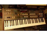 Kawai Sx 240 rare analog synth keyboard mint condition
