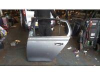 2010 VW GOLF MK6 REAR BACK LEFT PASSENGER NEAR SIDE NSR BARE DOOR PANEL SHELL GUJ £200