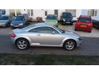 AUDI TT -very good example. 1.8t