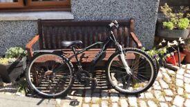 Black Apollo Child's Bike needing serviced