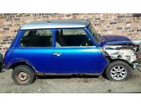 Rover mpi cooper 1275 breaking for spares, classic mini, half leather interior